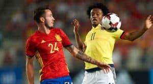 สเปน 2-2 โคลัมเบีย