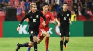 ทีมชาติไทย 3-0 เกาหลีเหนือ