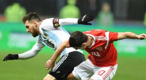 รัสเซีย 0-1 อาร์เจนติน่า