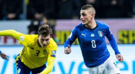 สวีเดน 1-0 อิตาลี่